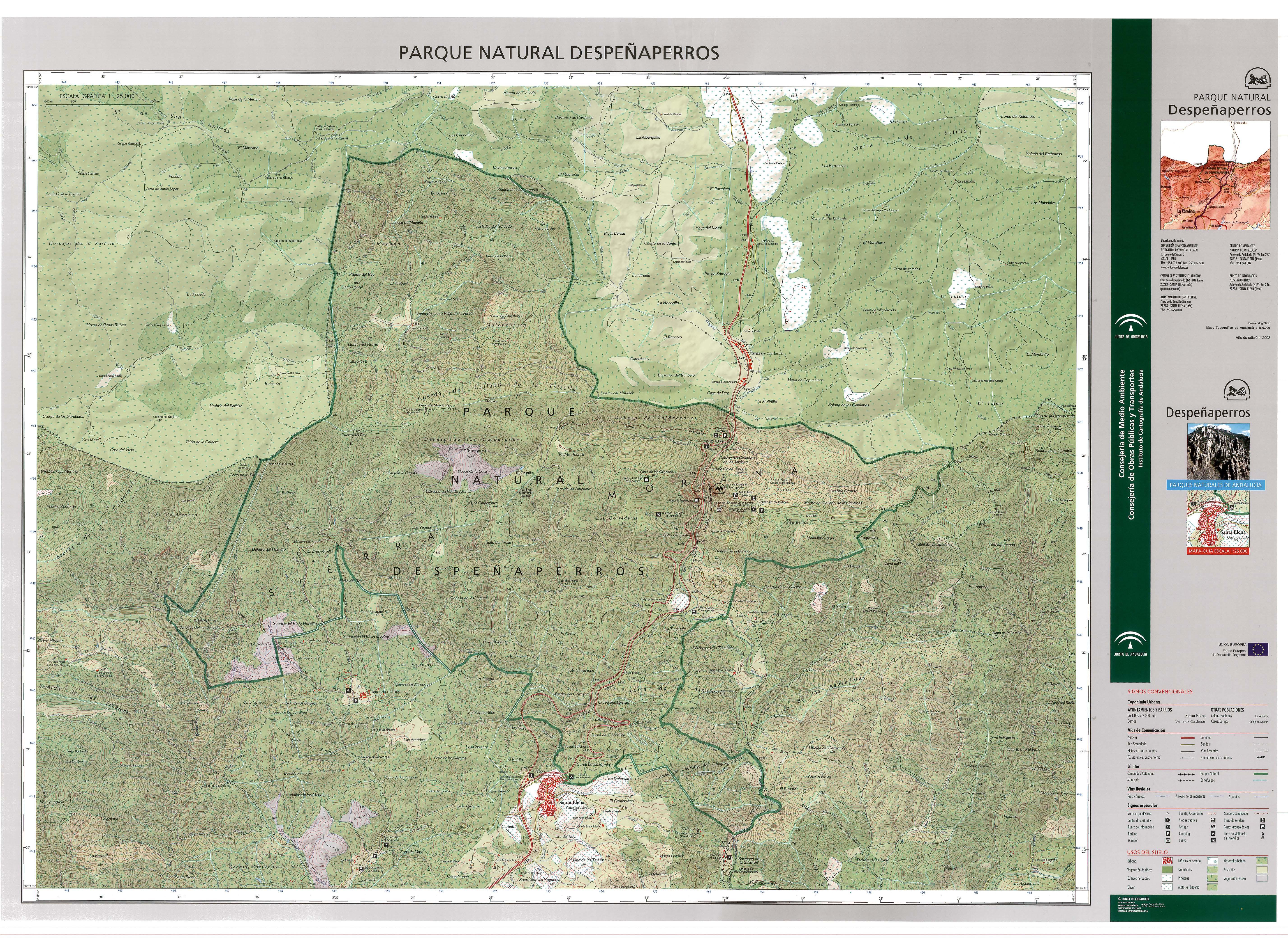 Despeñaperros Natural Park 2003