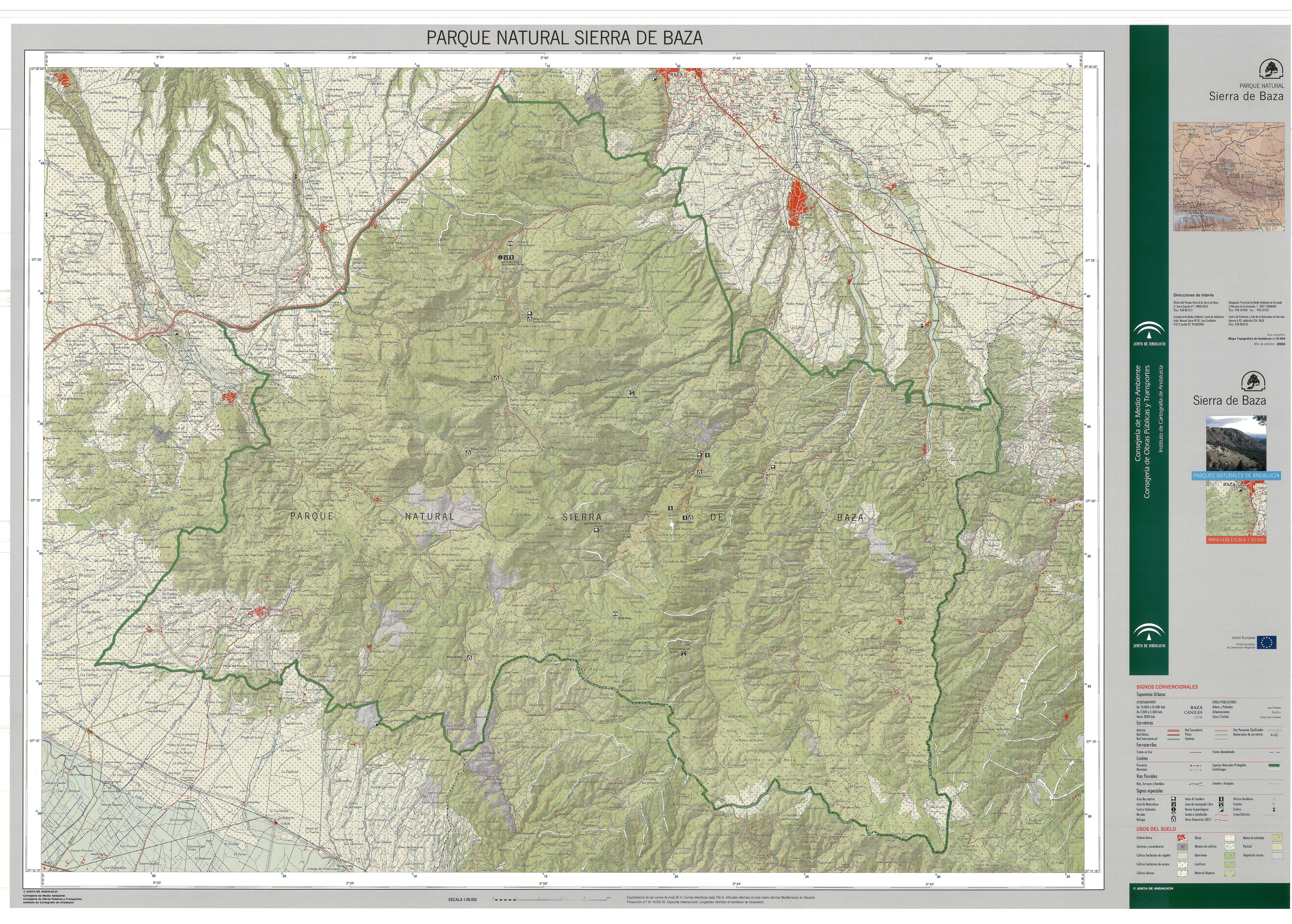 Parque Natural de la Sierra de Baza 2004