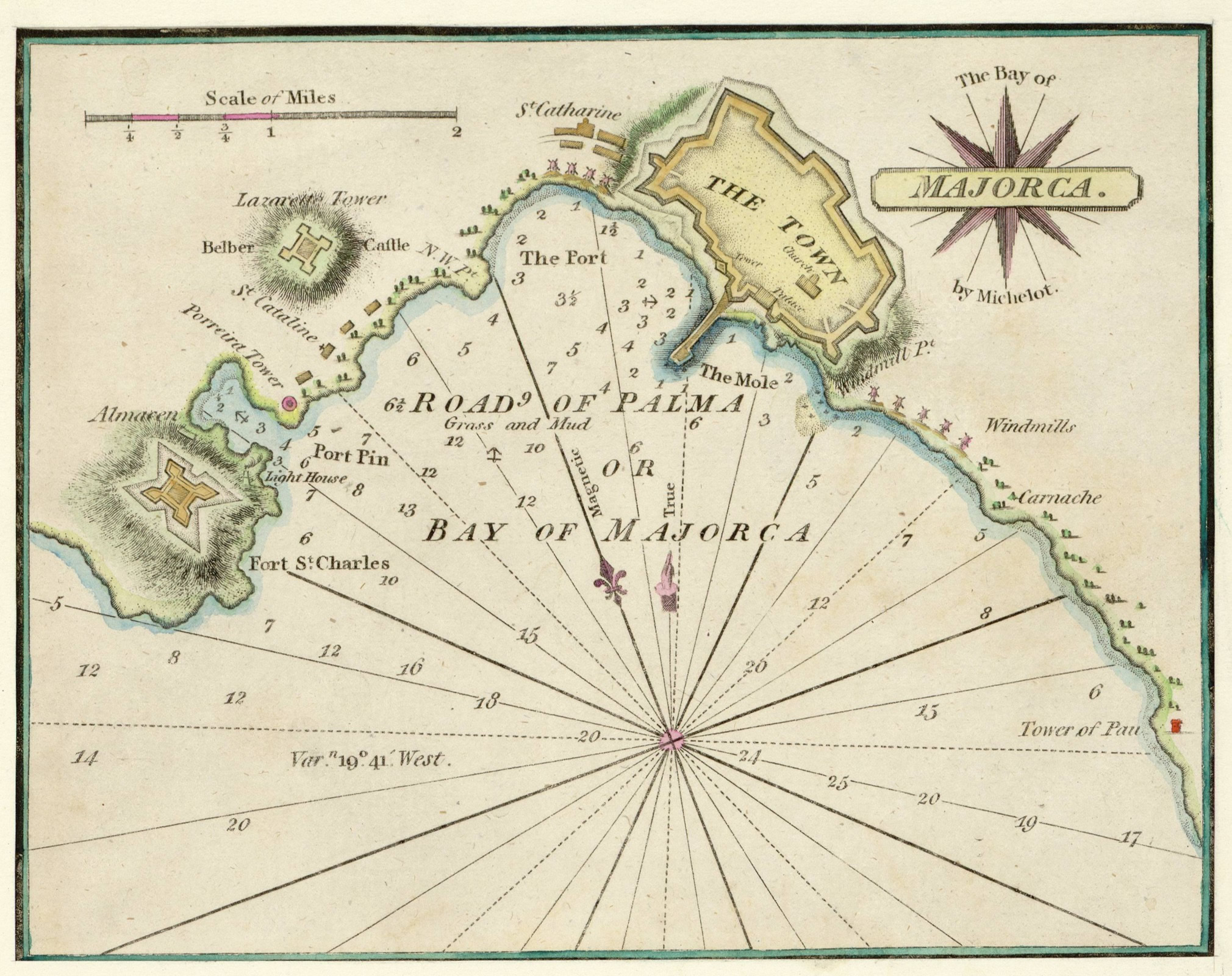 La bahía de Mallorca 1810