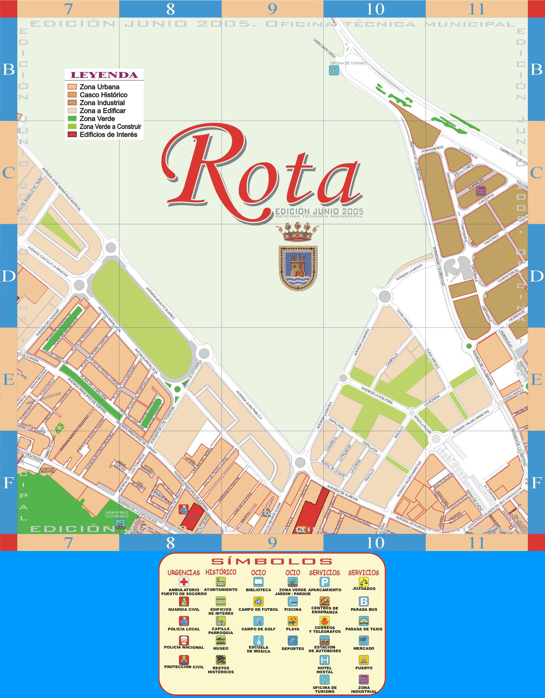 Rota map 2005 - part 2