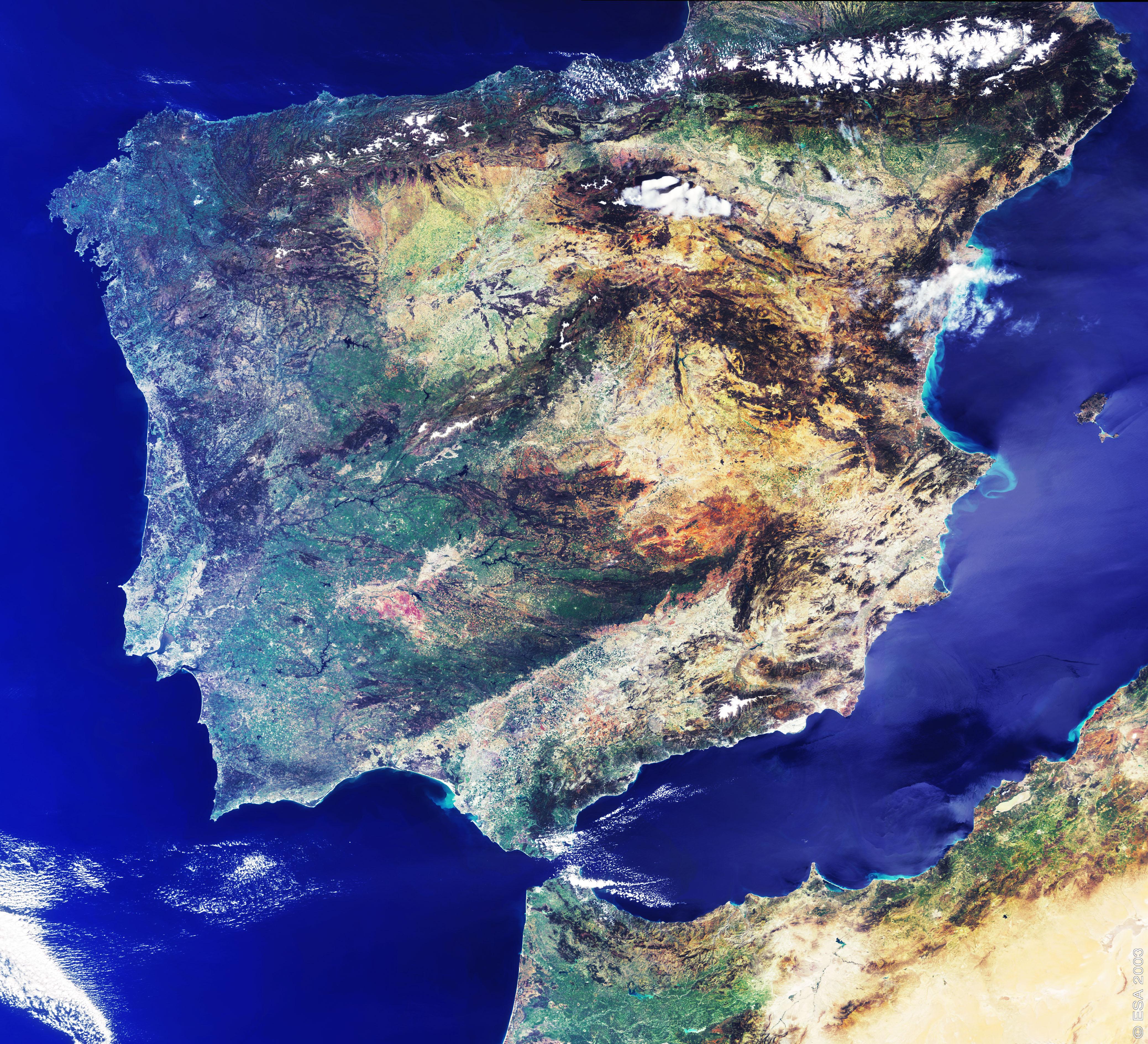 La Península Ibérica 2003