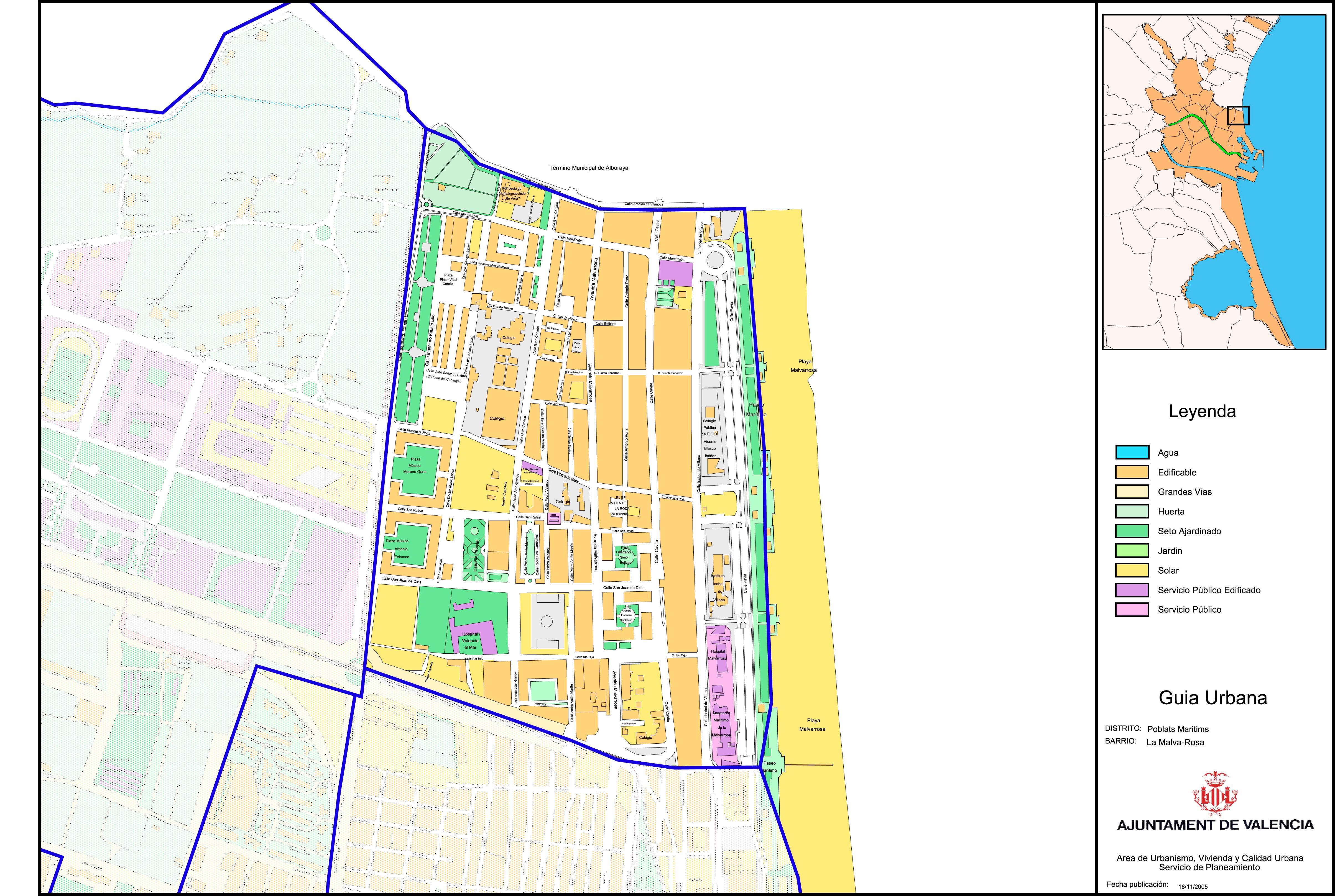 Neighborhood of La Malva-Rosa, Valencia