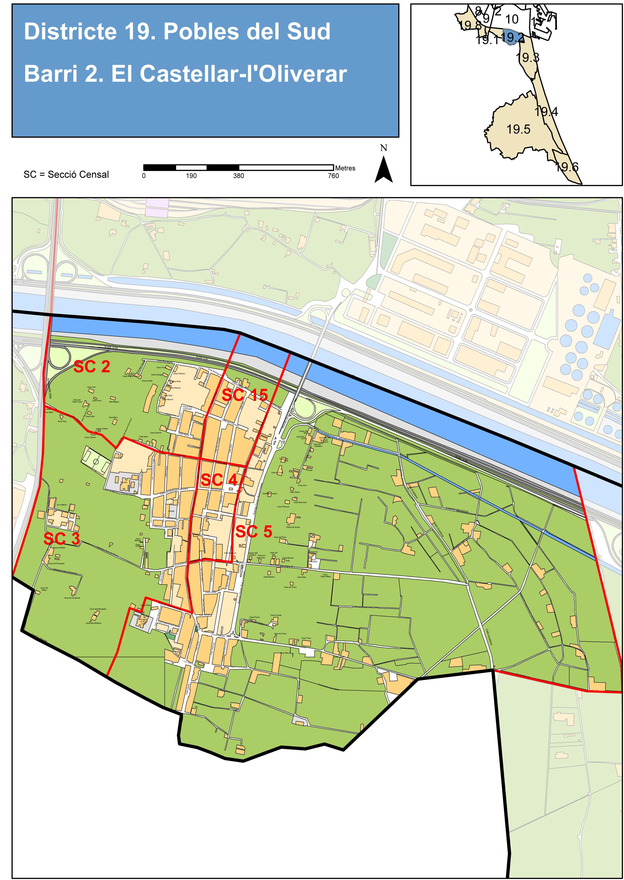 Castellar-L'Oliveral, pedanía de Valencia