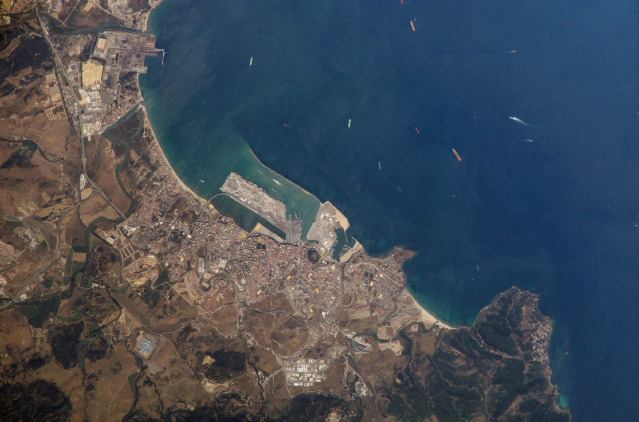 Satellite map of Algeciras 2002