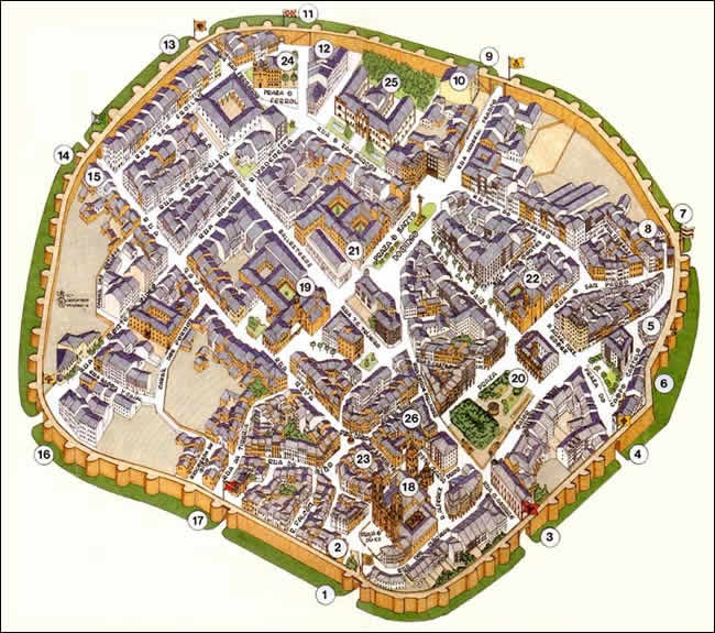 Lugo monuments guide