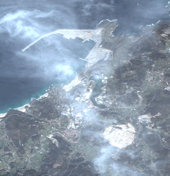 Mapa satelital de Arteijo