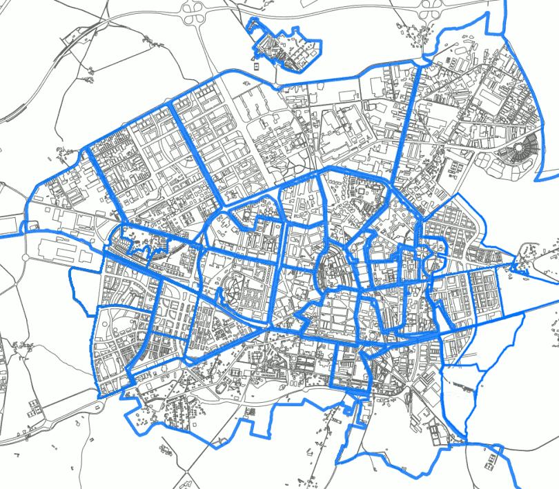 Barrios de Vitoria 2010