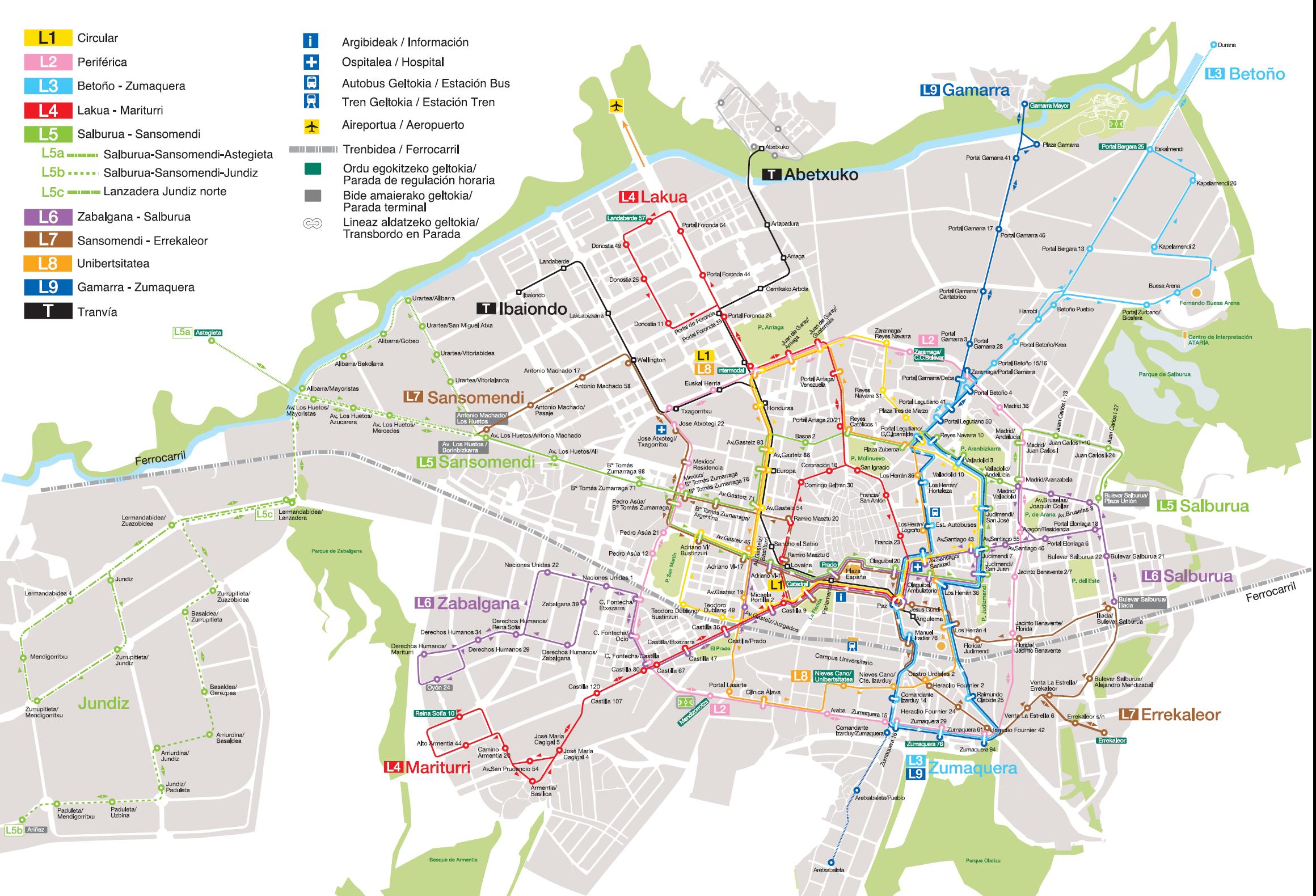 Public transport of Vitoria-Gasteiz