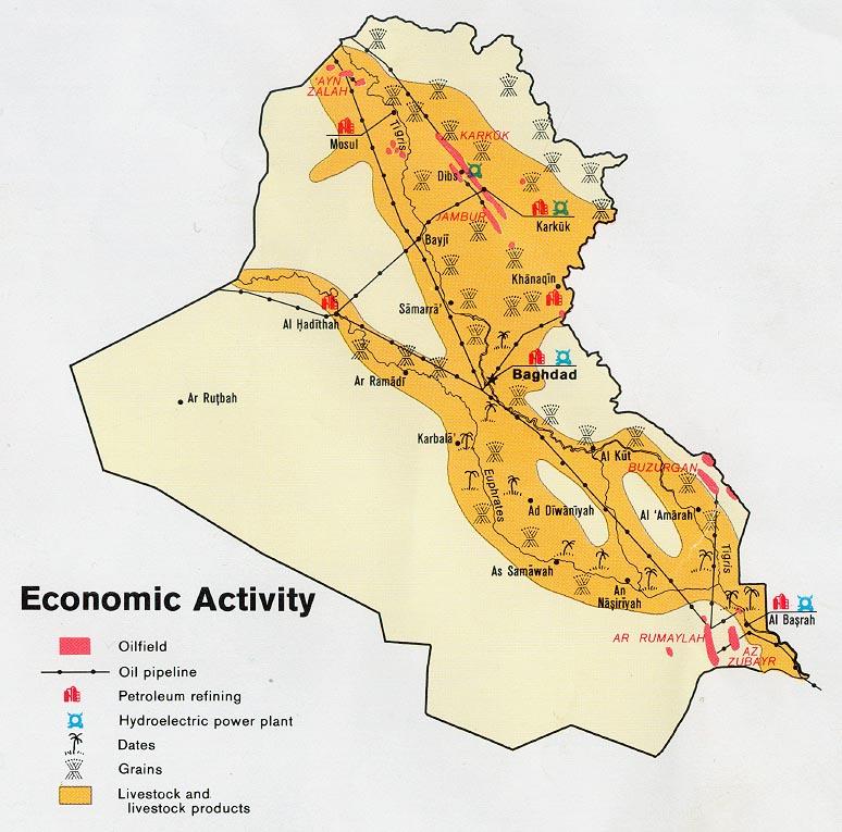 Actividad Económica de Irak 1978