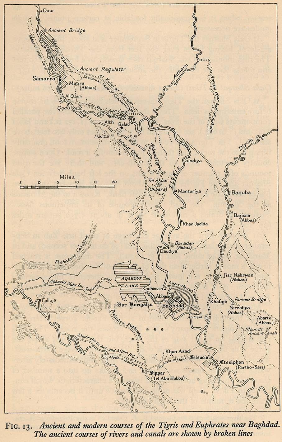 Tigris and Euphrates Near Baghdad