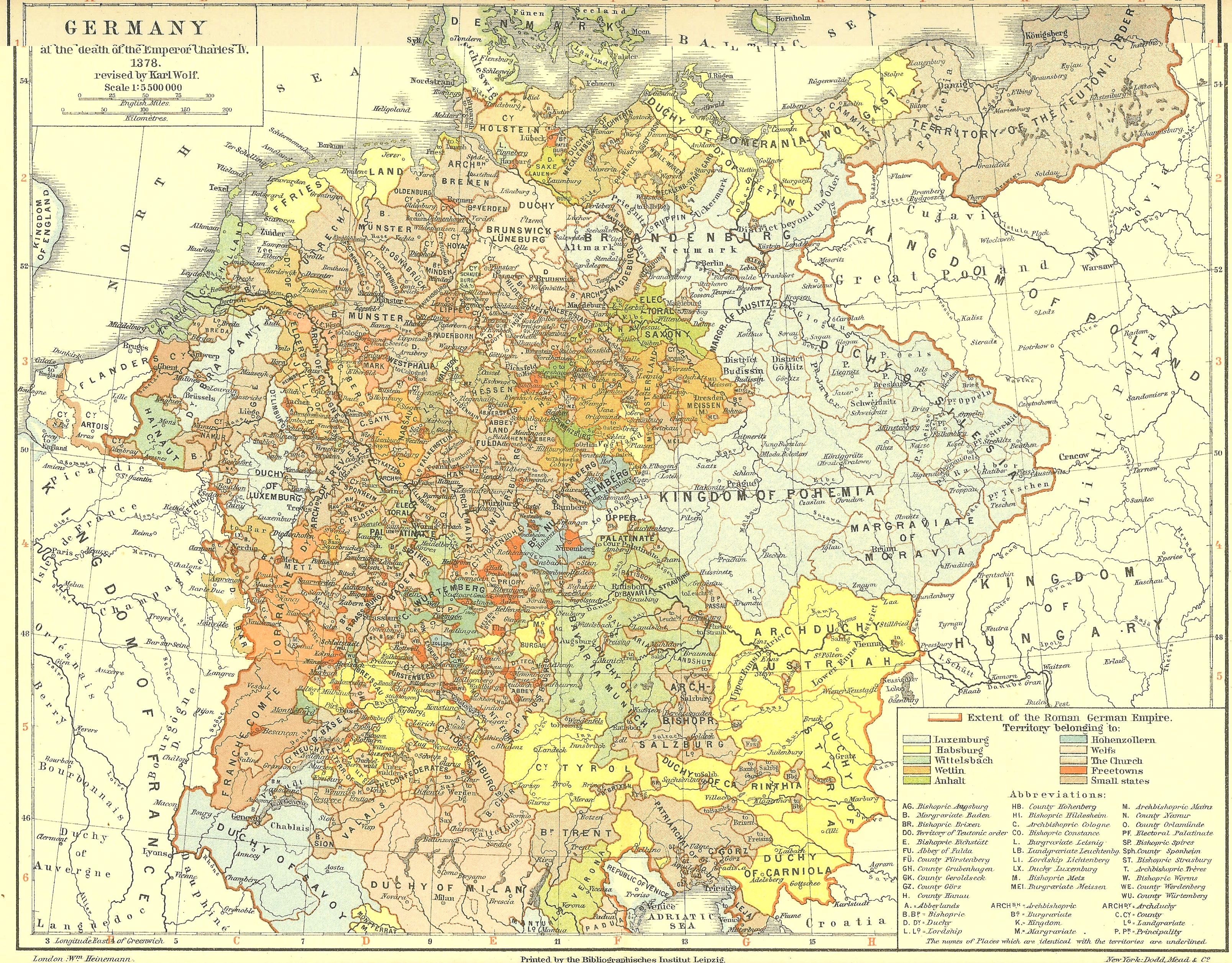 Alemania en 1378