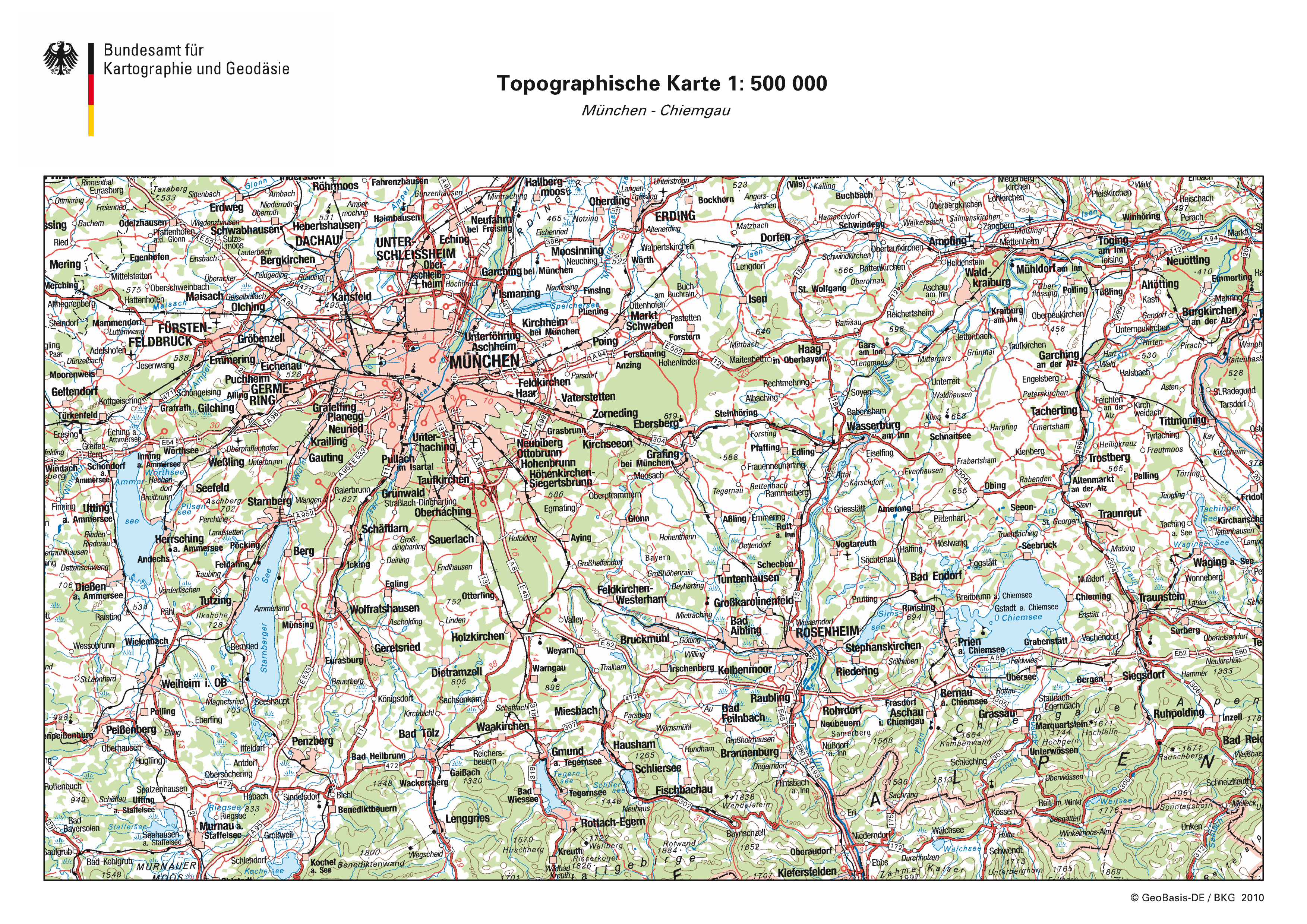 Munich map 2010