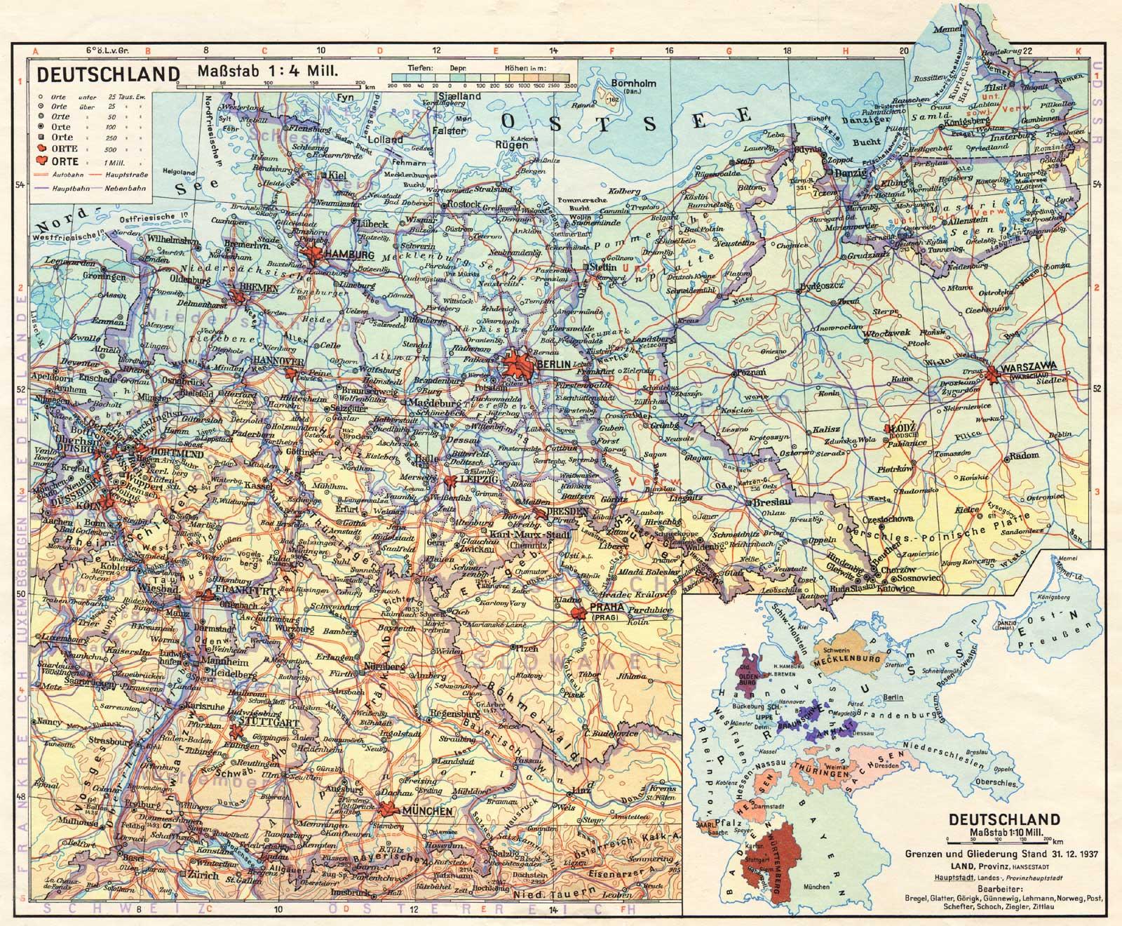 Alemania en 1937
