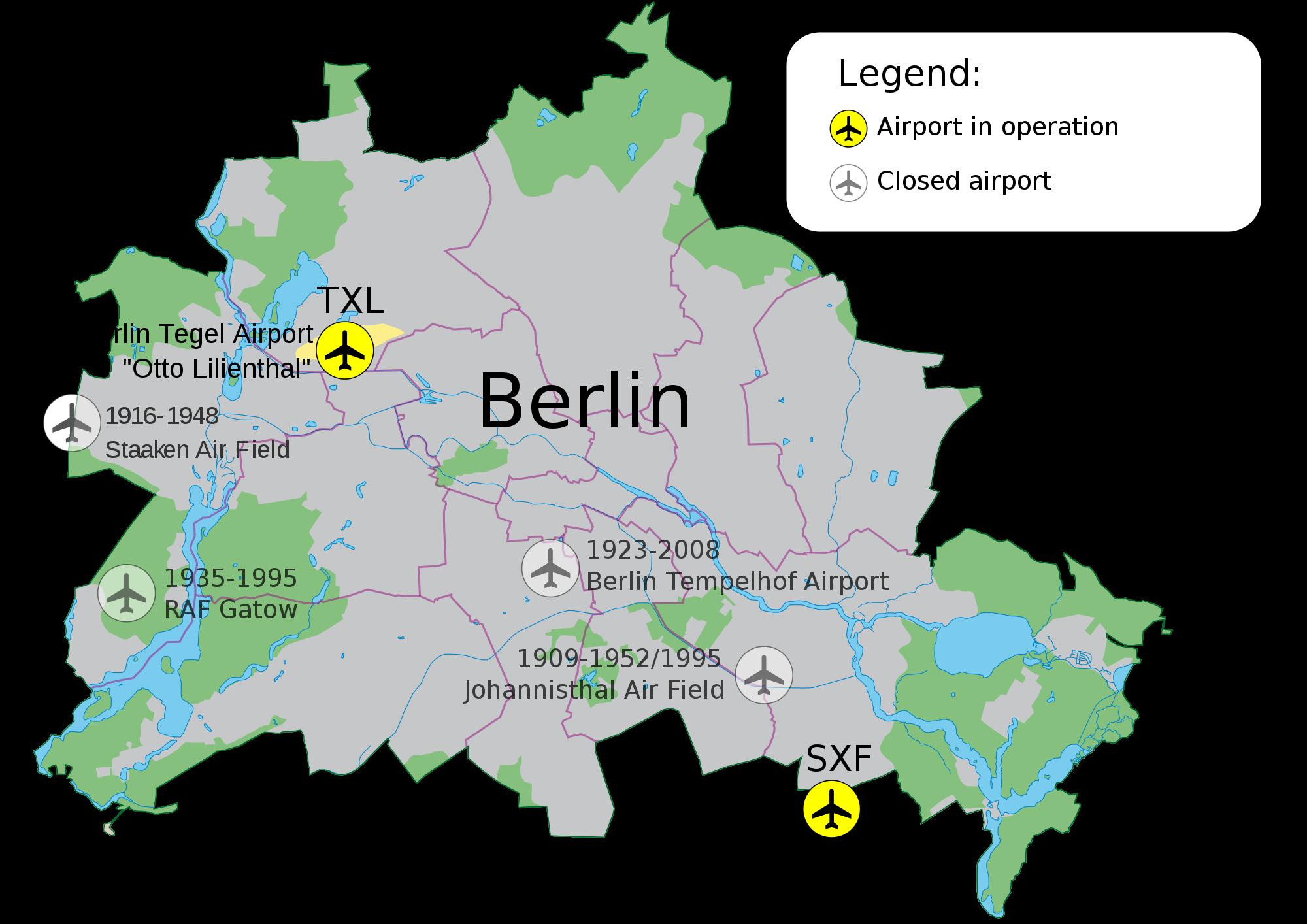 Aeropuertos de Berlín 2009