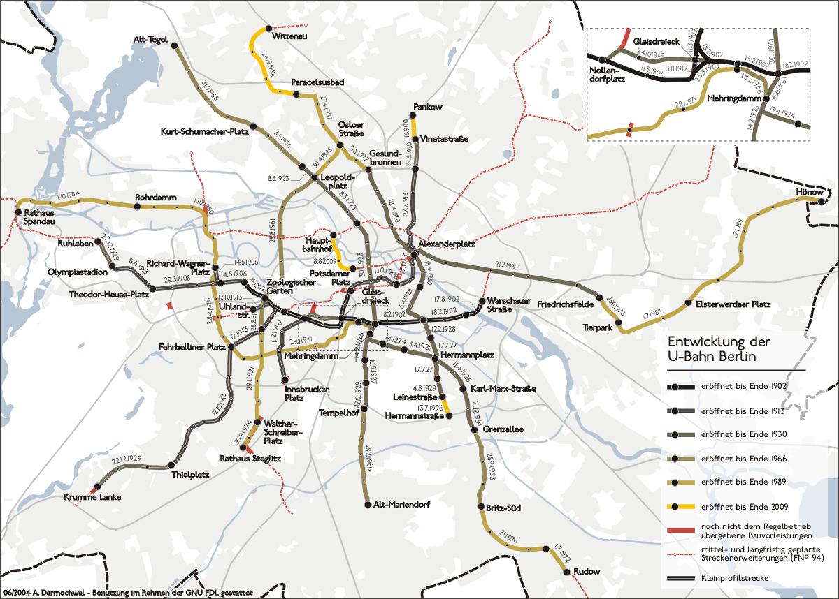 Metro de Berlín 2004