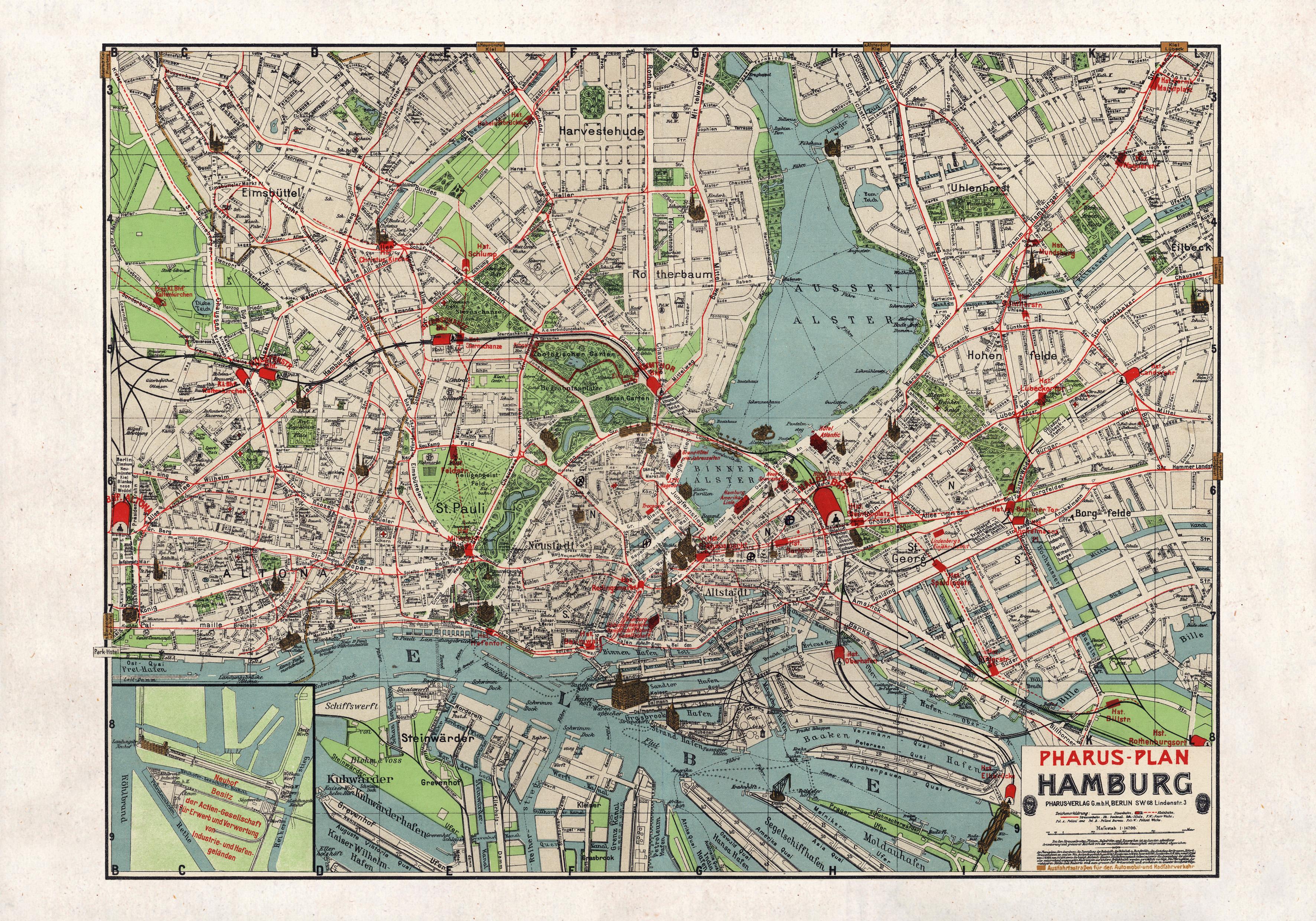 Hamburgo en 1911