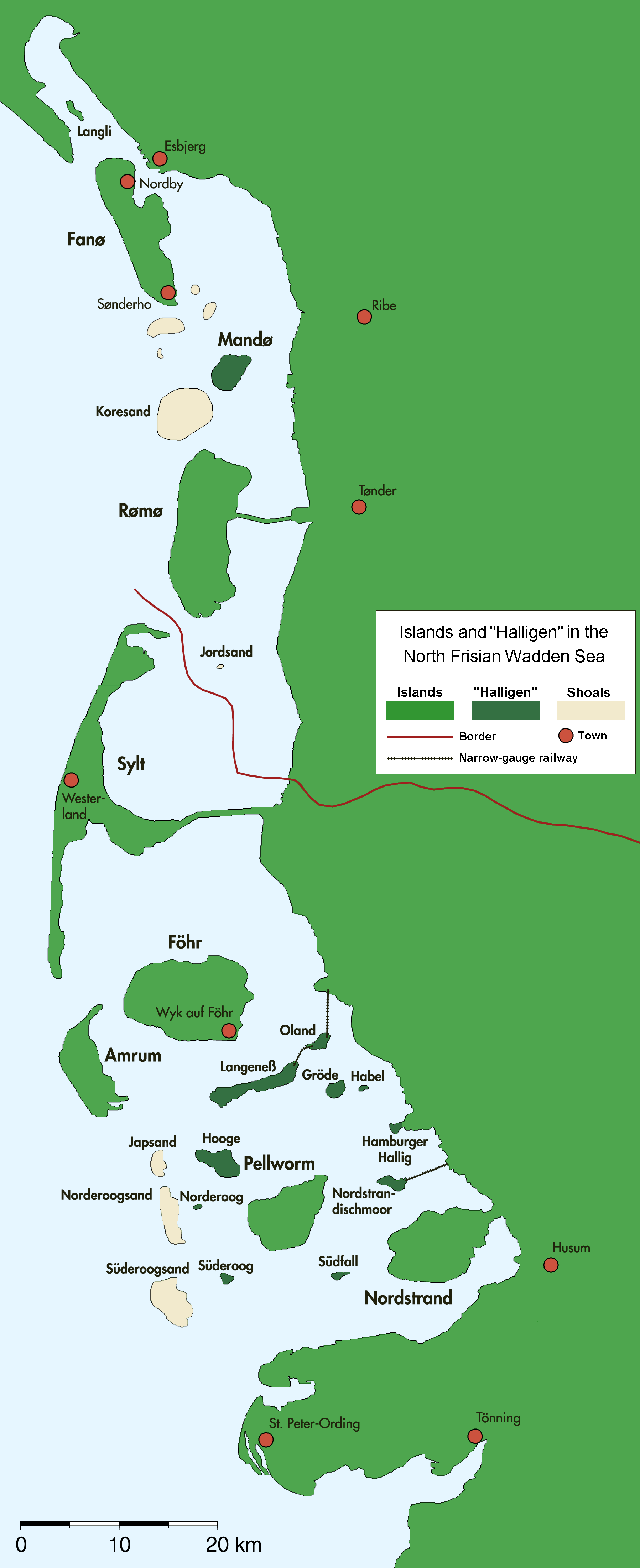Islas Frisias septentrionales 2005