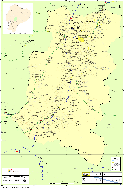 Mapa de Chimborazo 2010