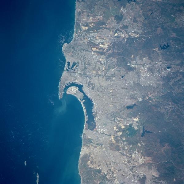 Mapa de La región de Tijuana - San Diego