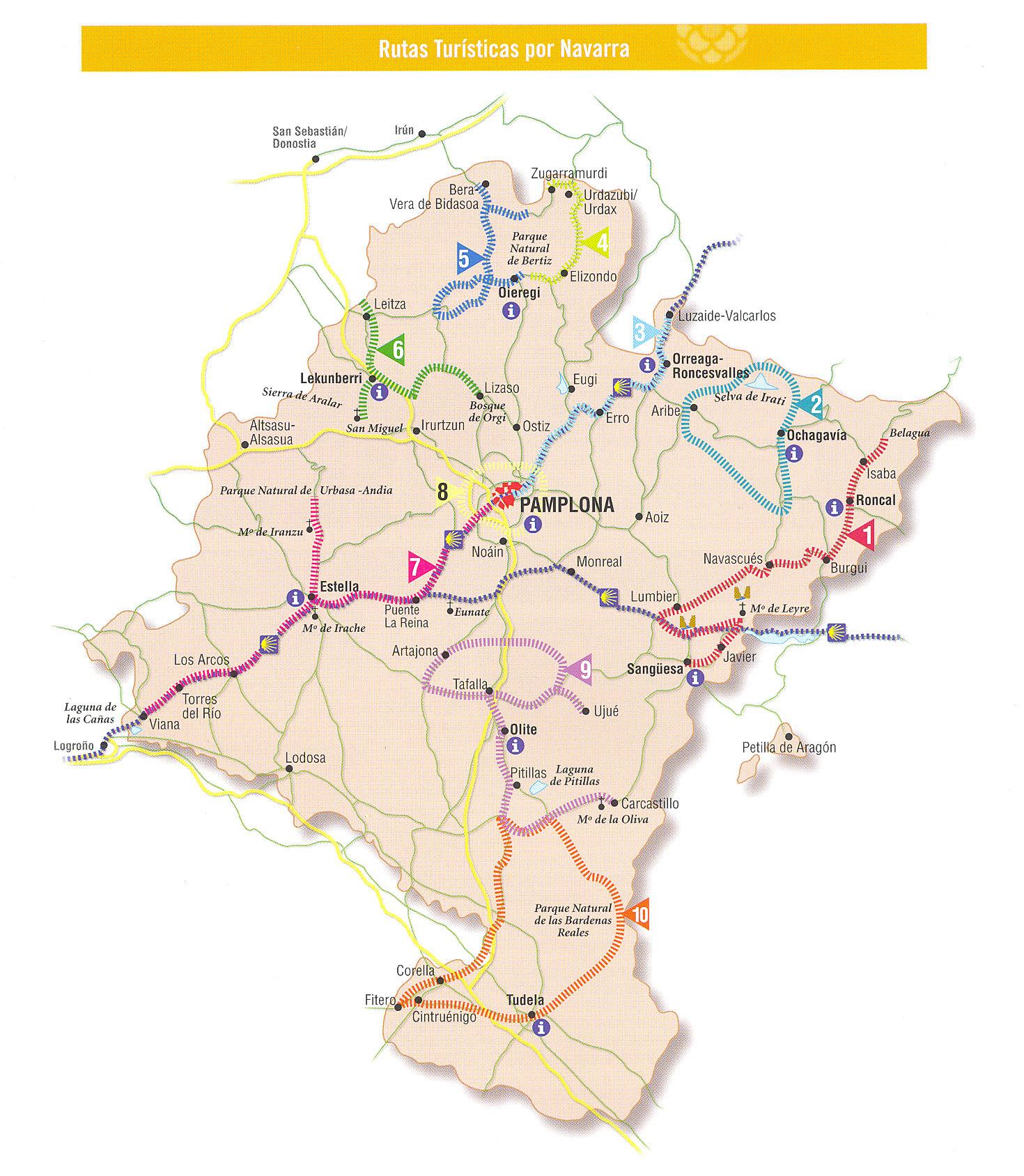 Rutas turísticas de Navarra
