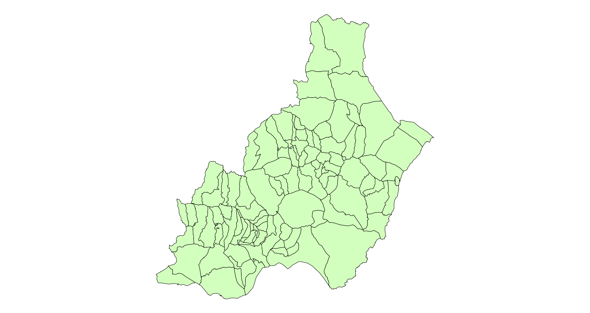 Municipalities of the Province of Almería 2003