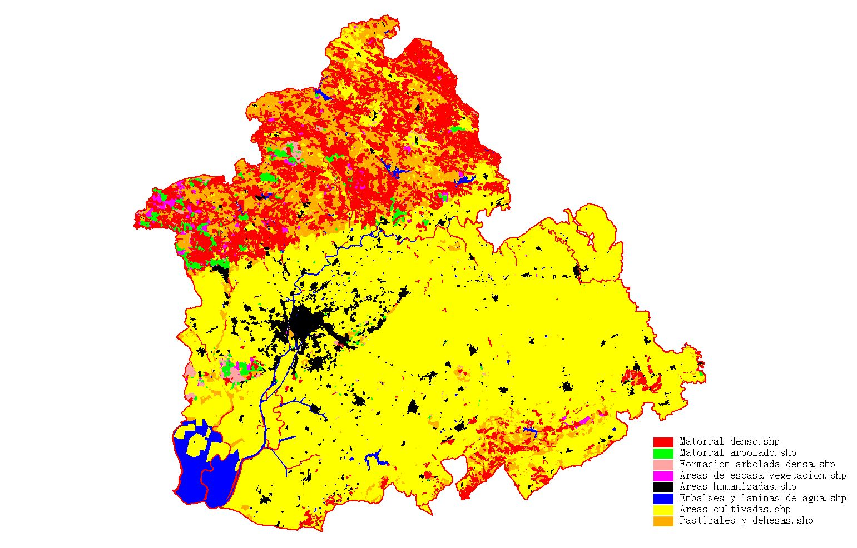 Vegetación de la provincia de Sevilla