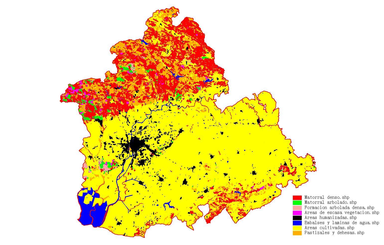 Vegetation of the province of Seville