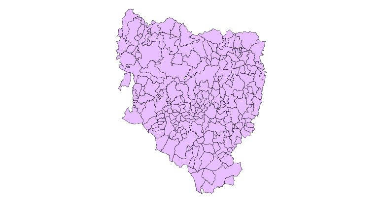 Municipalities of the Province of Huesca 2003