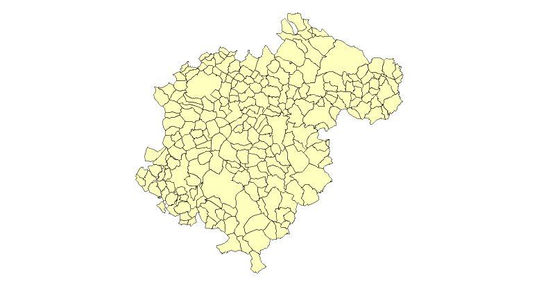 Municipios de la Provincia de Teruel 2003