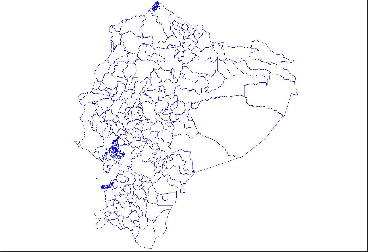 Cantons of Ecuador