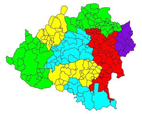 Comarcas de la Provincia de Soria 2007