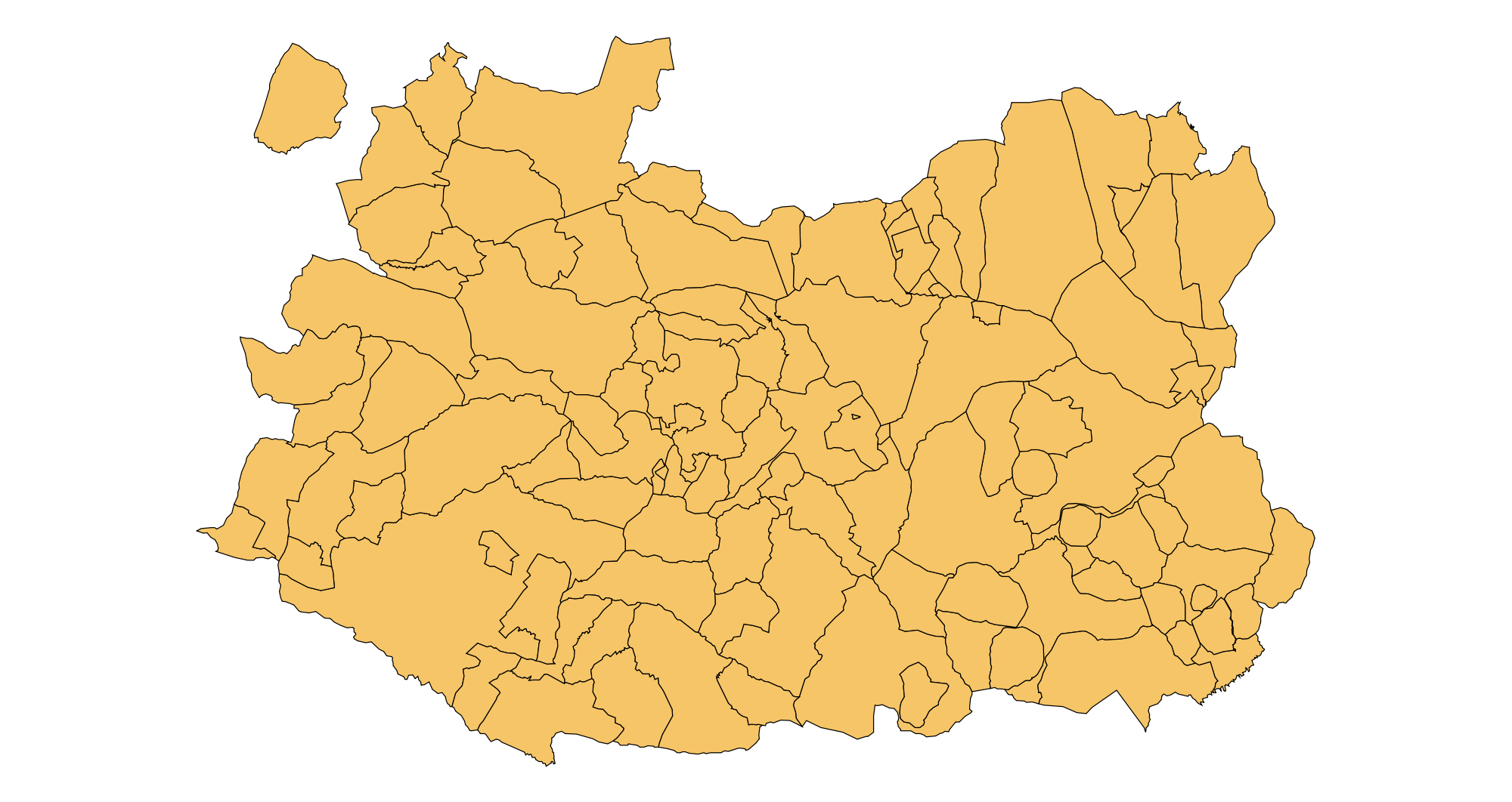Municipalities of the Province of Ciudad Real 2003