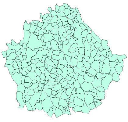 Municipios de la Provincia de Cuenca 2003