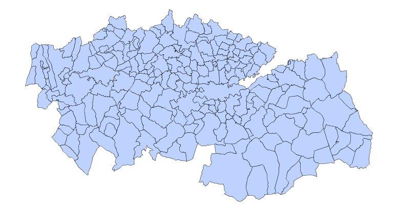 Municipios de la Provincia de Toledo 2003