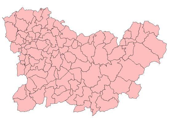 Municipios de la Provincia de Orense 2003