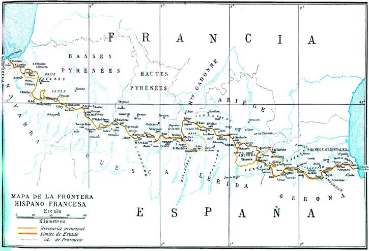 Frontera entre España y Francia