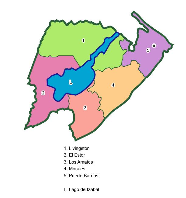 Municipios de Izabal