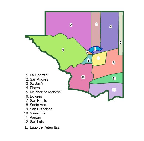 Municipios de Petén