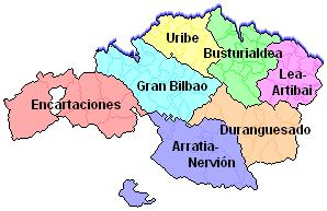 Comarcas de Vizcaya 2005