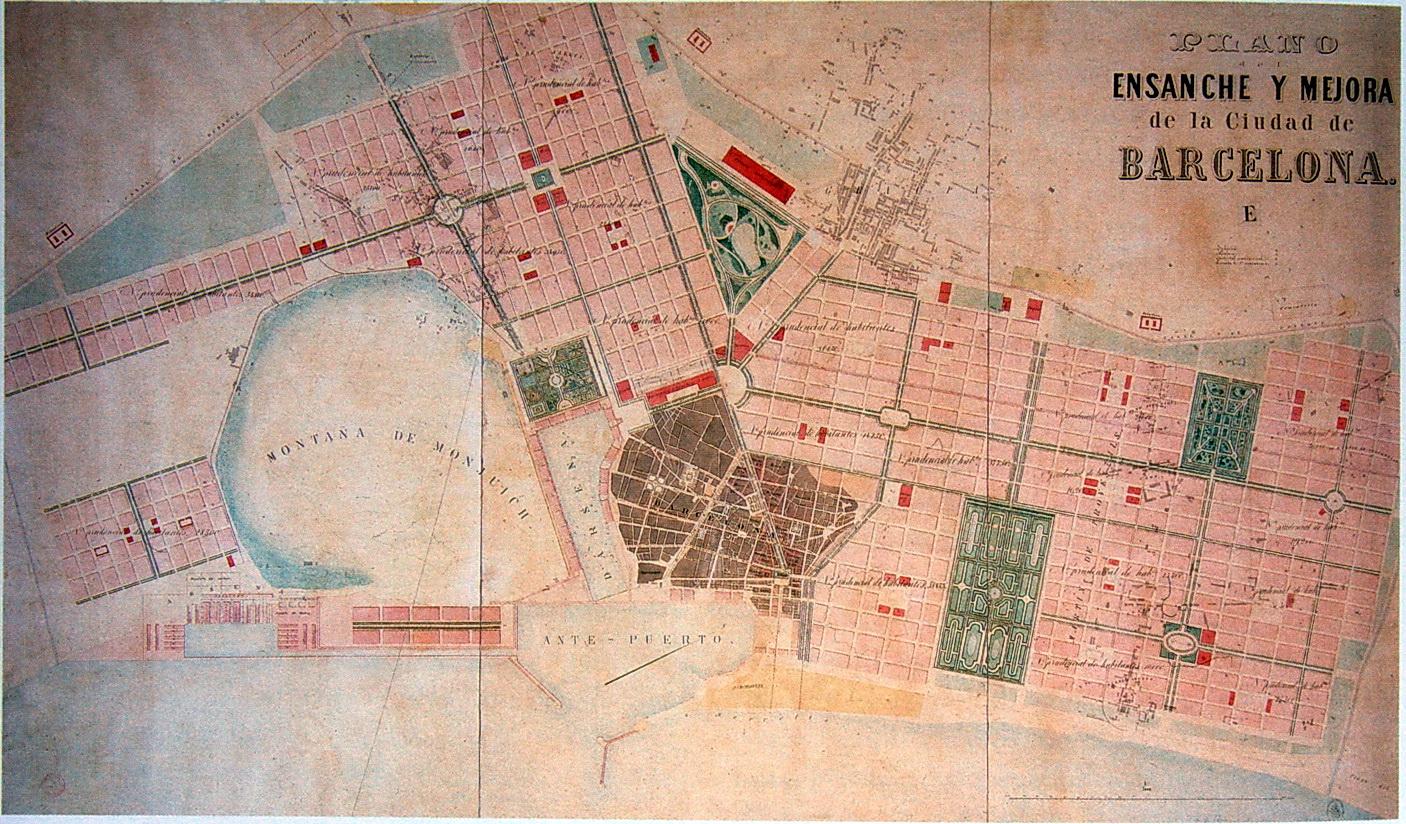Proyecto de ensanche de Francesc Soler i Gloria 1859