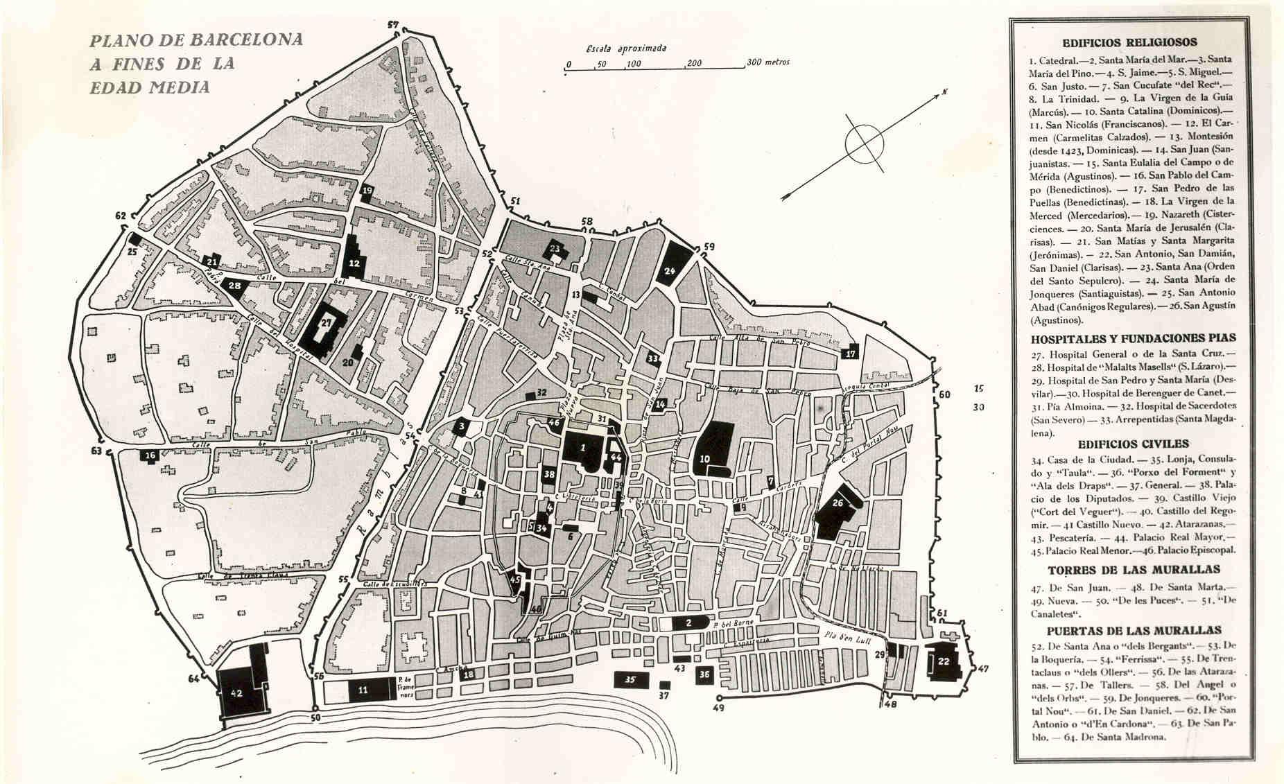 Barcelona a fines de la Edad Media