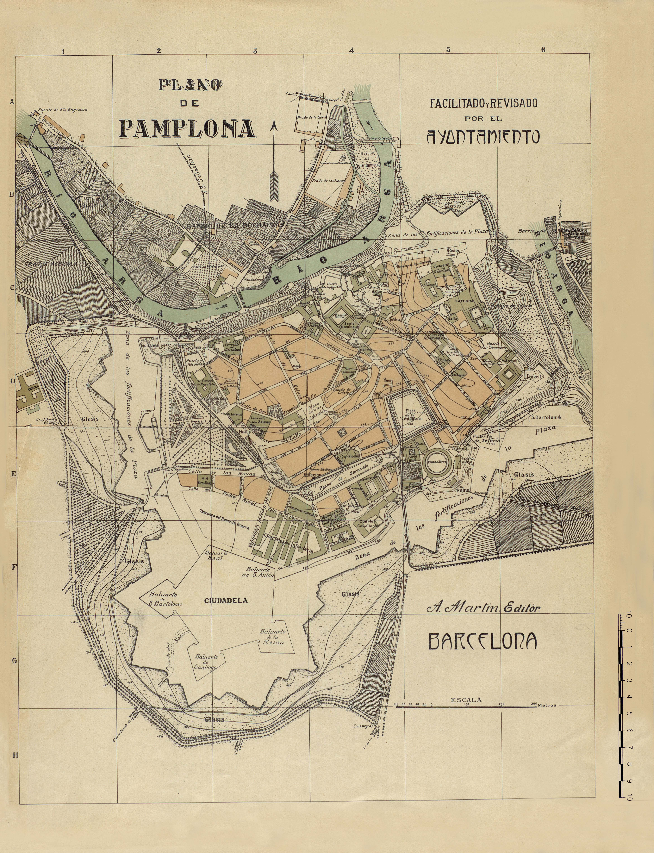 Plano de Pamplona