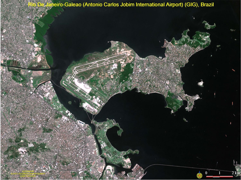 Aeropuerto Galeão Antonio Carlos Jobim, Rio de Janeiro, Brasil