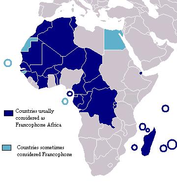 Africa francófona 2007