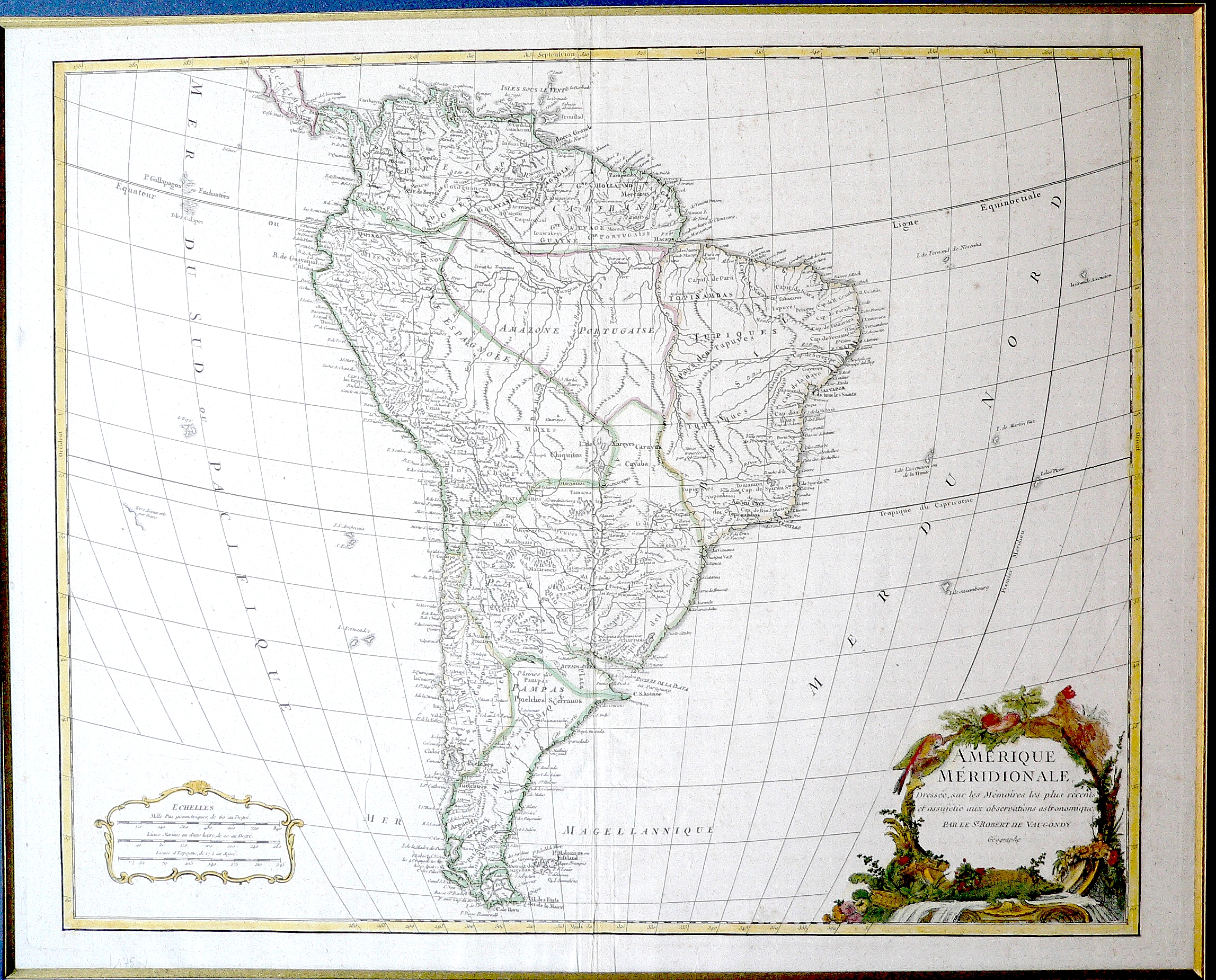 South America 1750