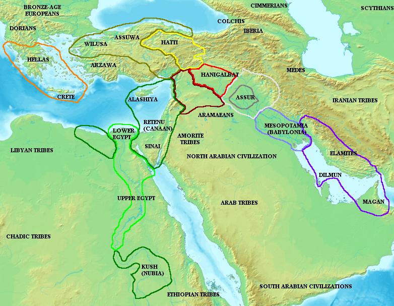 Antiguo Oriente Próximo en el Período de Amarna