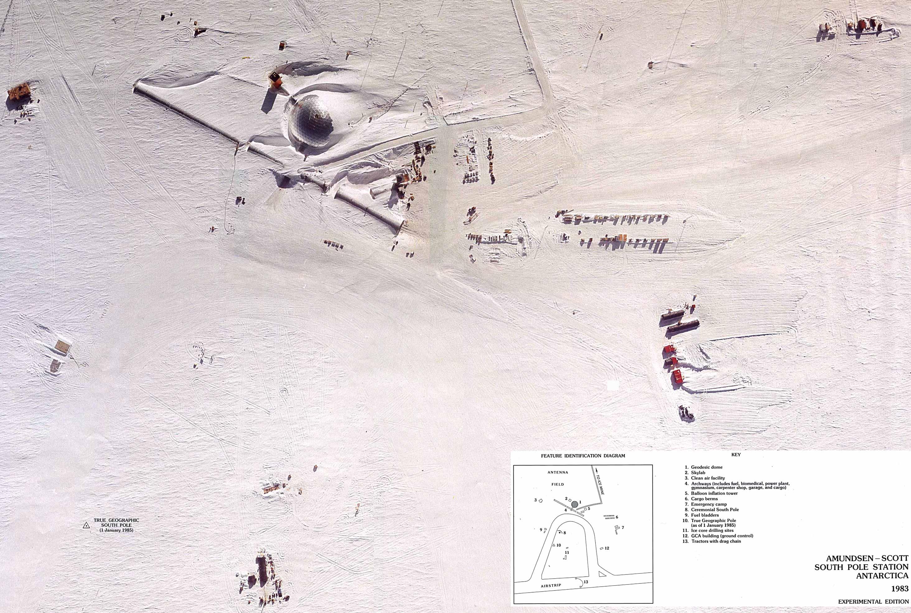 Base Amundsen-Scott Polo Sur