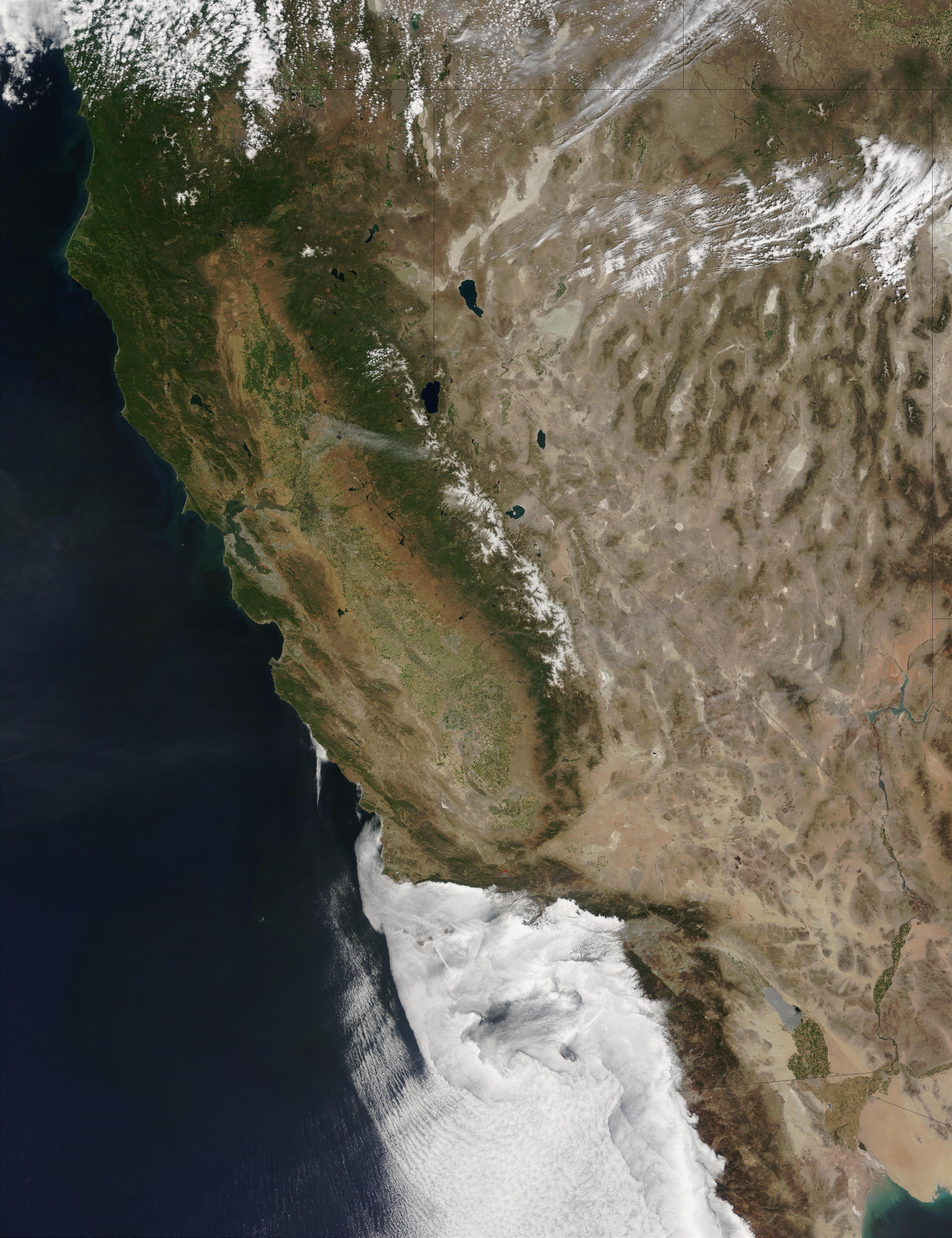 California y Nevada
