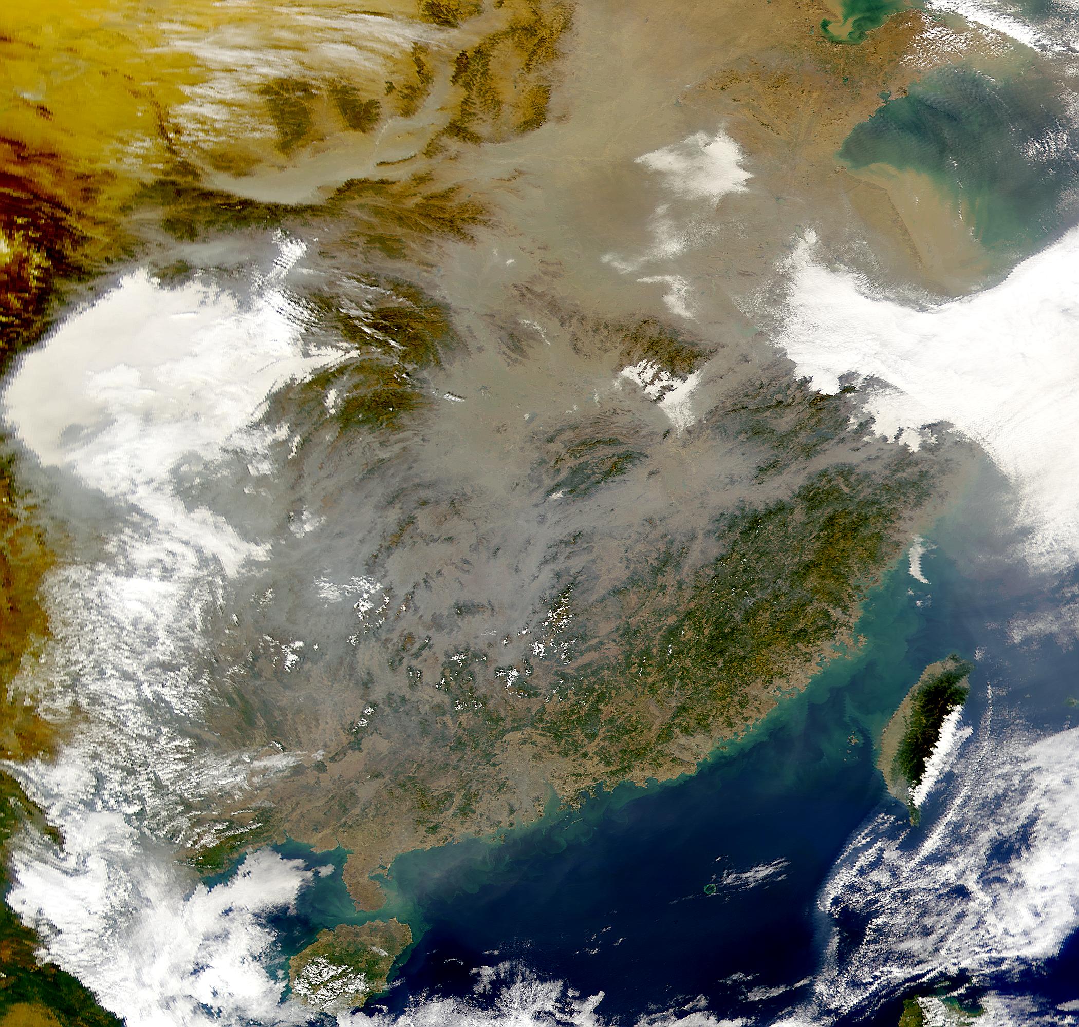 Calima en China