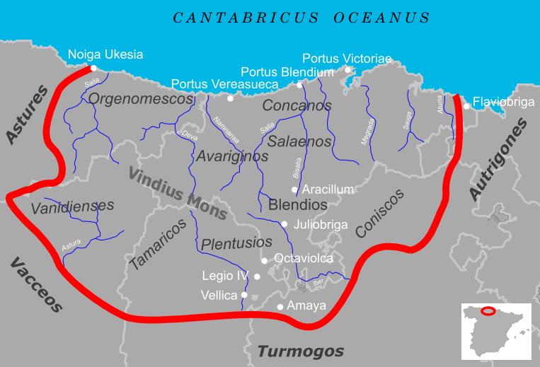 Cantabria durante las Guerras Cántabras